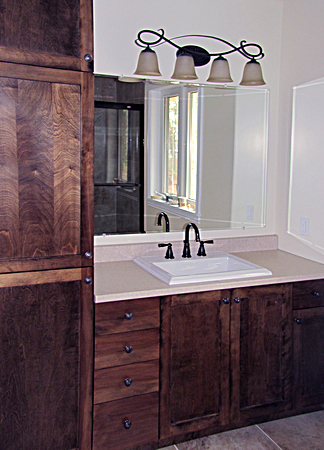 Custom Bathroom by DLP
